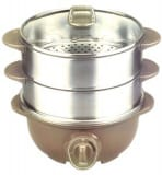 Electric Hot Pot cum Steamer MC2929SS