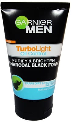 GARNIER MEN. Turbo Light Oil Control Charcoal Foam 50ml
